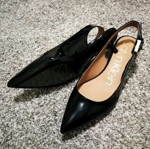 NEW | Calvin Klein Patent Leather Pump Size 9